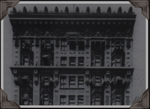 old photograph of the Algonquin Hotel 1922