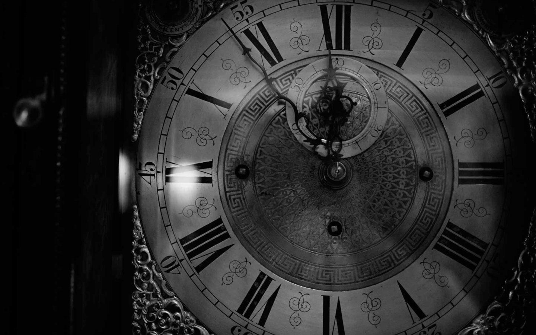 clock at 11:54