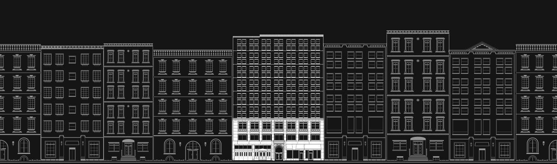 Con de Nast building illustration