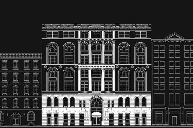 Society of Mechanics building illustration