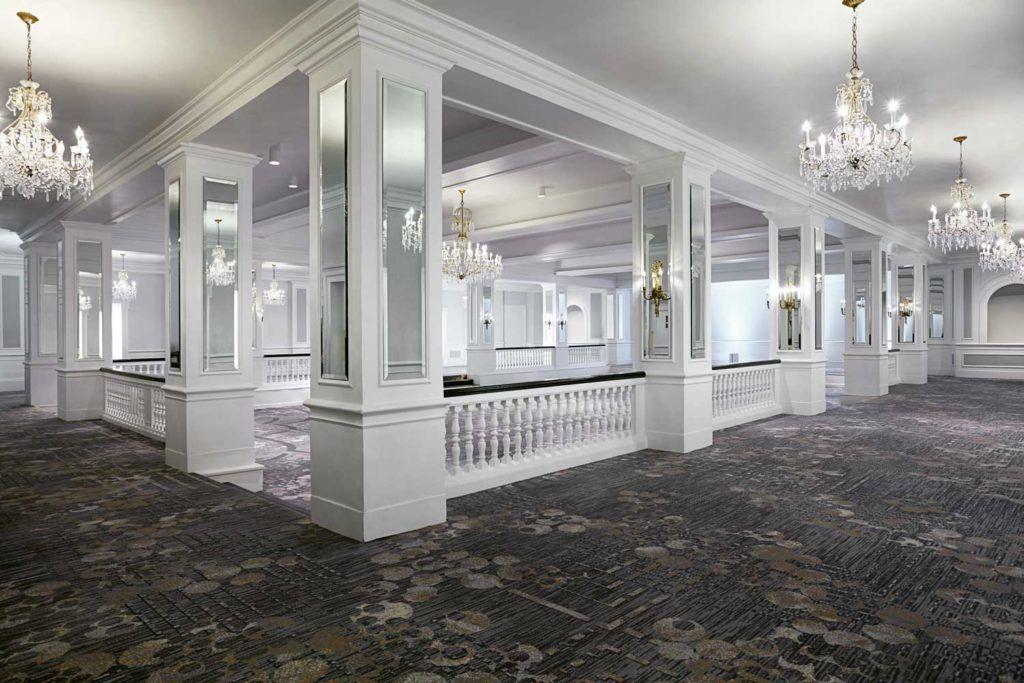 empty event venue in the District Ballroom