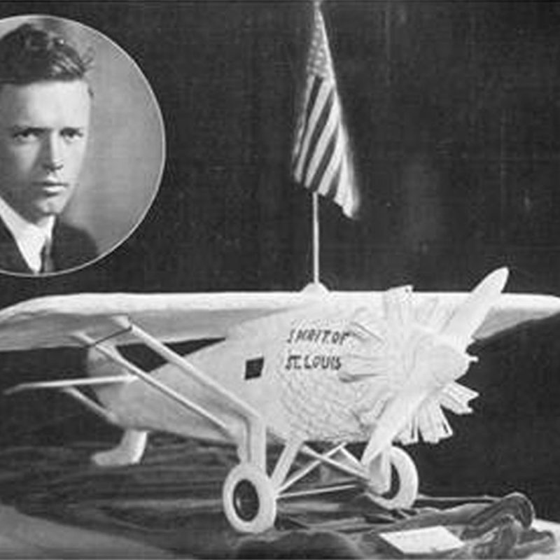 Charles Lindbergh in 1927