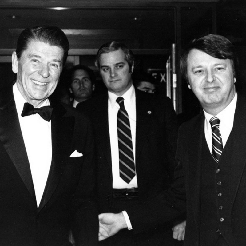 Ronald Reagan Arrival at The Mayflower Hotel in 1981