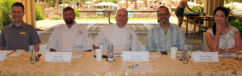 Masters of craft judges