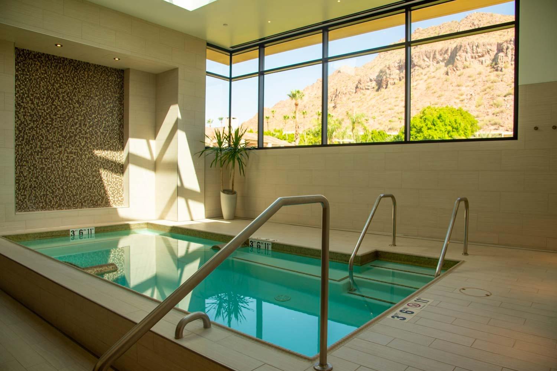 indoor spa pool