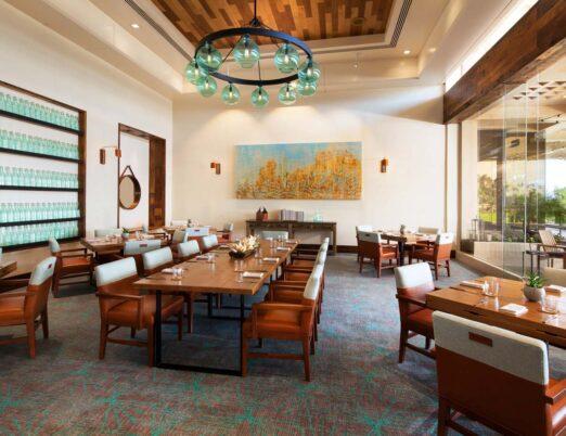 Verdigris private dining room