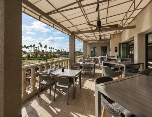 The Phoenician Tavern Patio