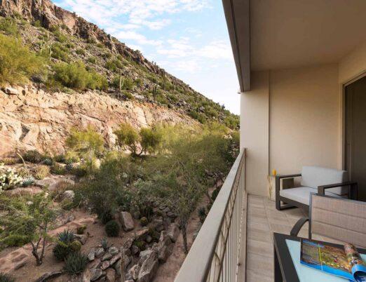 Deluxe Mountain View Guestroom Patio