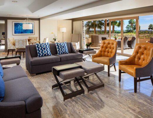 Phoenician Suite - Living Room