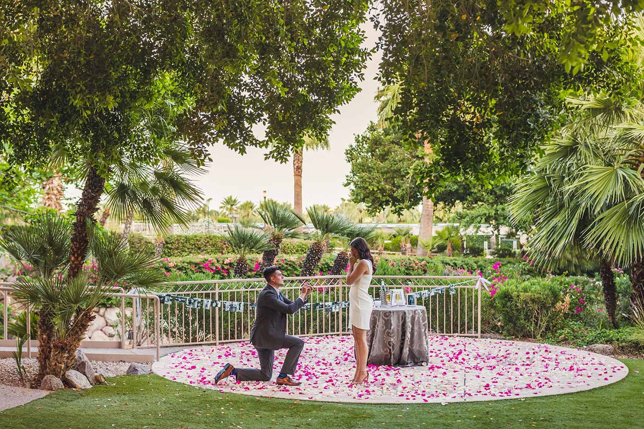 Proposal at The Phoenician