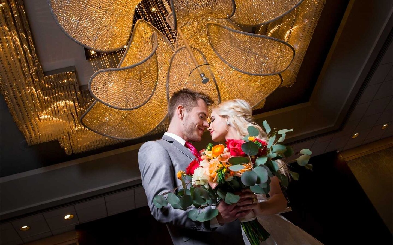 Ballroom Foyer Wedding