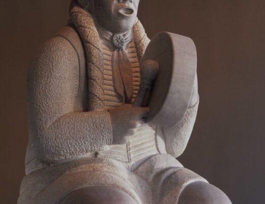 sculpture Kiowa Song, created by Allan Houser