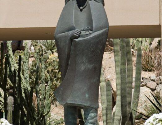 sculpture Morning Prayer, created by Allan Houser