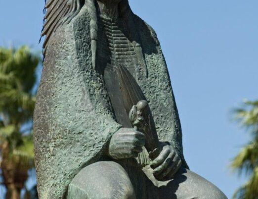sculpture Prayer Song, created by Allan Houser