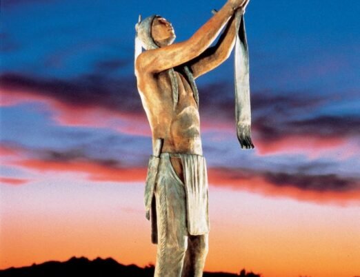 sculpture To the Great Spirit, created by Allan Houser