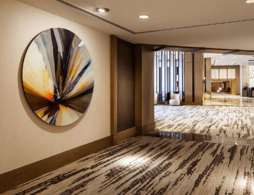 painting in a luxury hotel lobby Lee Hendrickson: Local, Arizona Artist