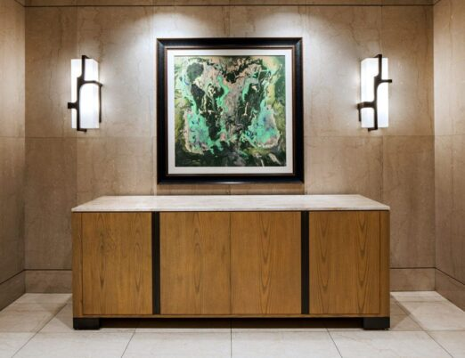 painting in a luxury hotel by Darryl Green: Local, Arizona Artist
