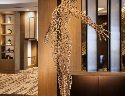 sculpture Solaris, created by Lee Seong-gu