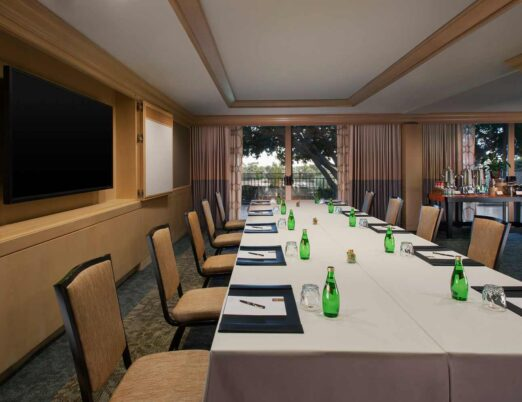 The Phoenician meeting room