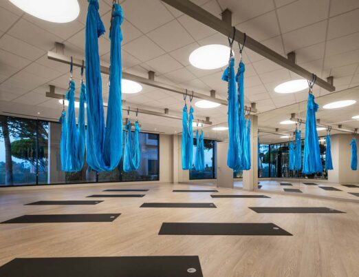 Aerial Yoga at The Phoenician Spa Fitness Center