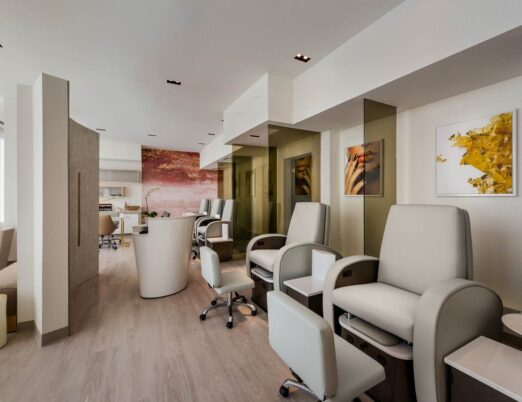 Full Service Nail Salon at The Phoenician Spa