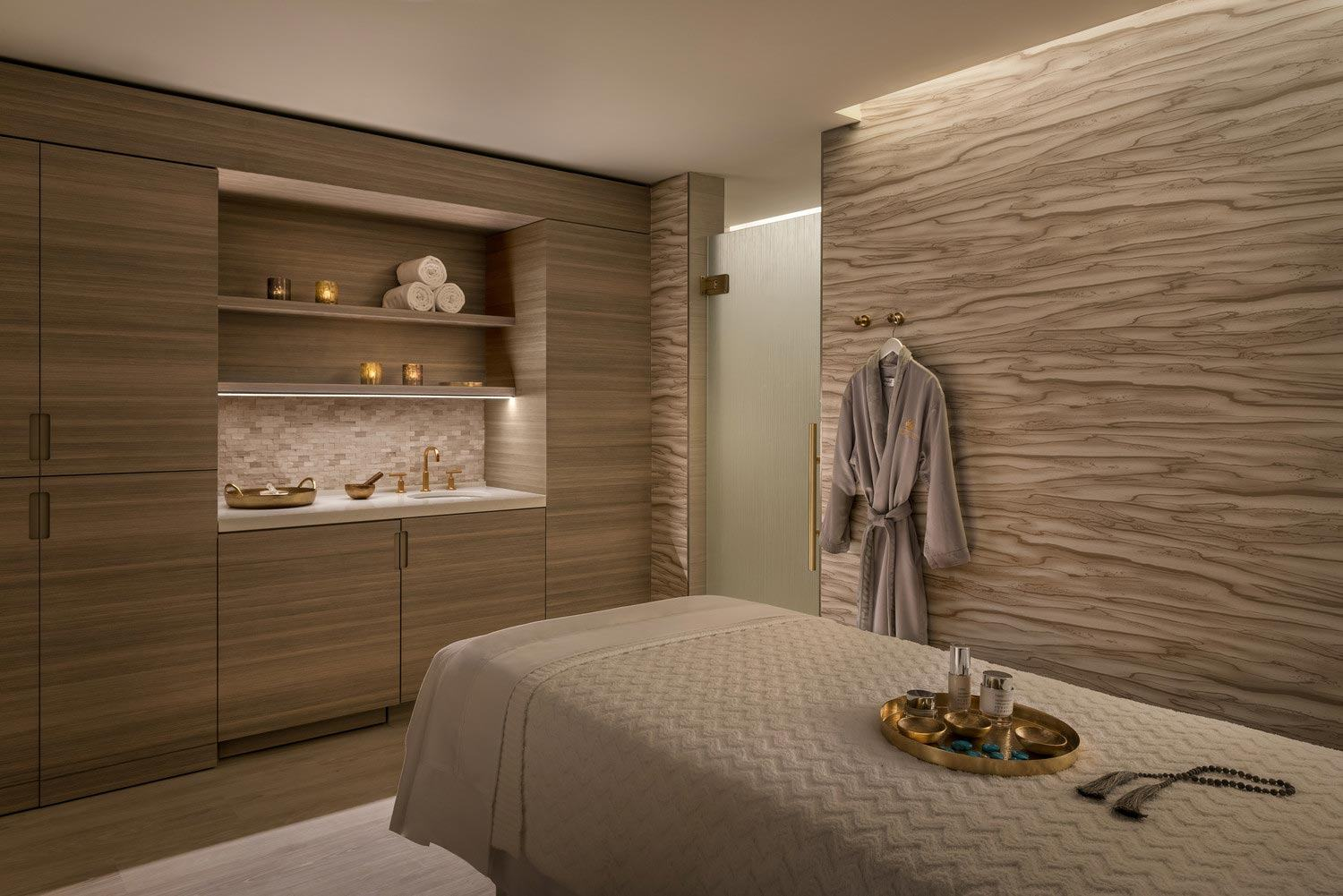Treatment Room at The Phoenician Spa