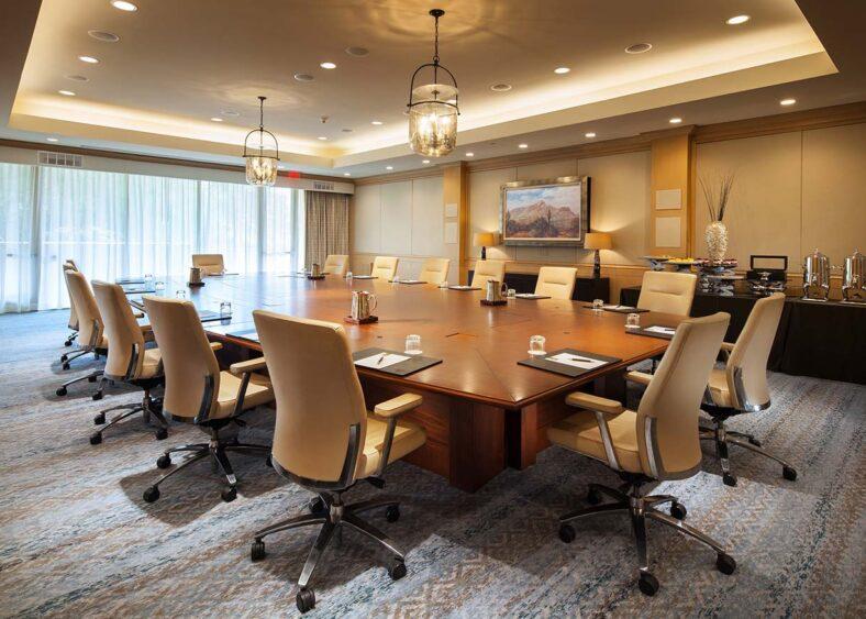canyon suites meeting boardroom venue