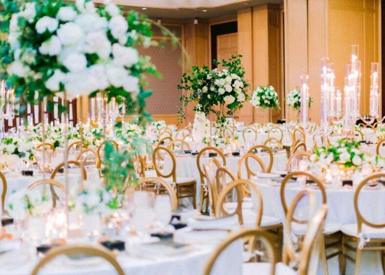 Grand ballroom | Photos by Elyse Hall Photography