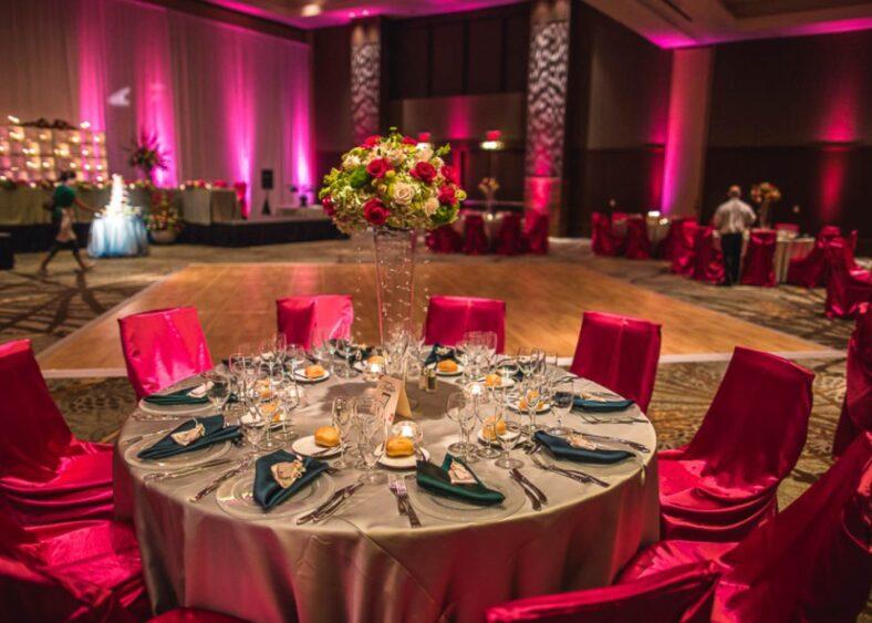 Camelback Ballroom setup for wedding
