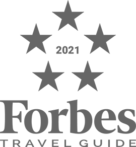 forbes travel guide 2021 five stars award