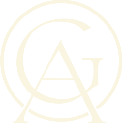 Grand Adirondack monogram of letters 'G and A'