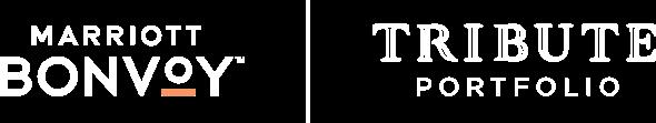 white marriott bonvoy and tribute portfolio logos