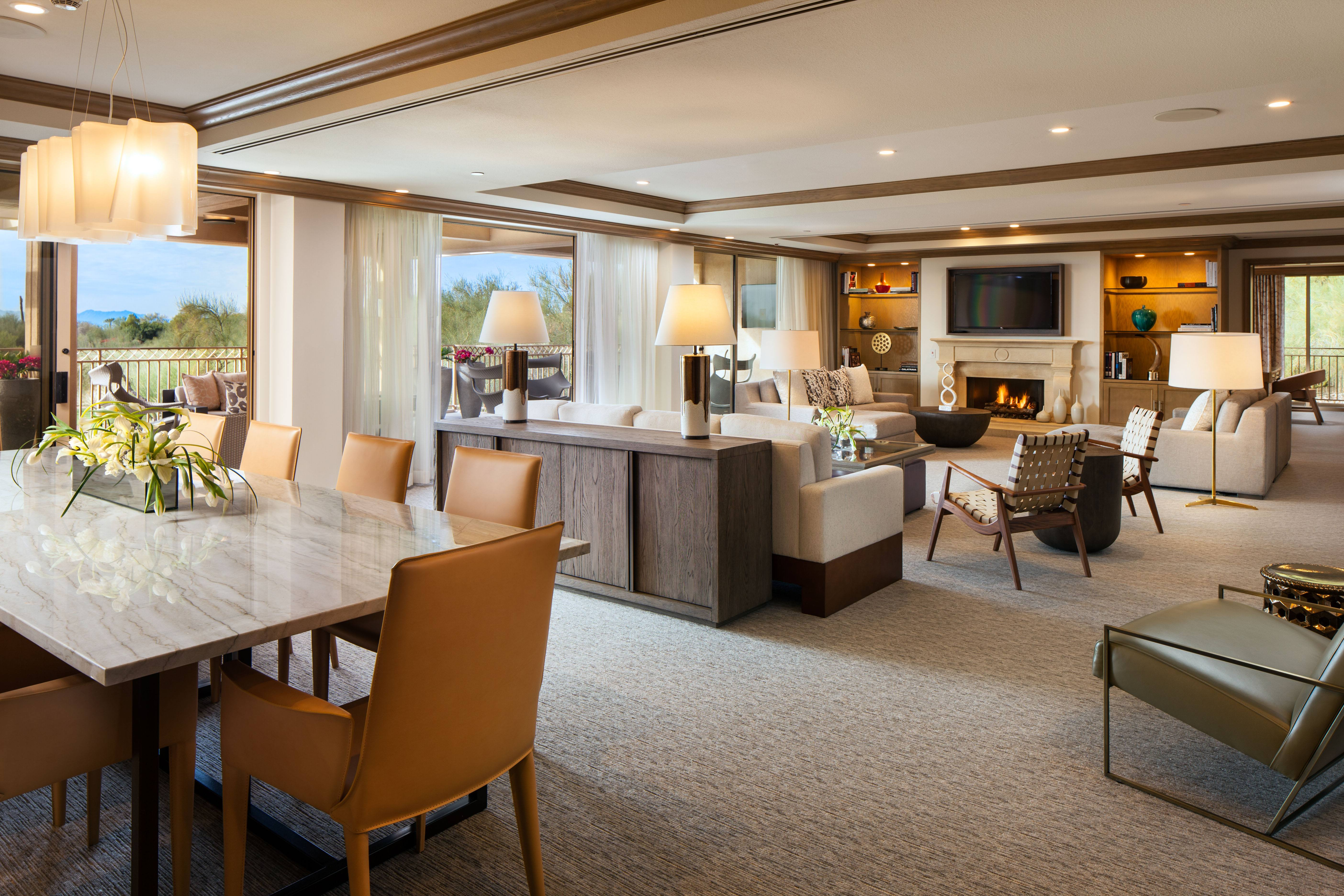 Presidential Suite The Canyon Suites At The Phoenician